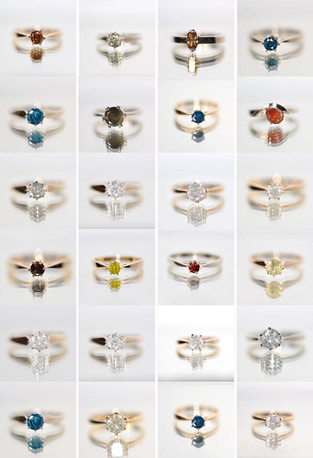 pierścionki zareczynowe z diamentem
